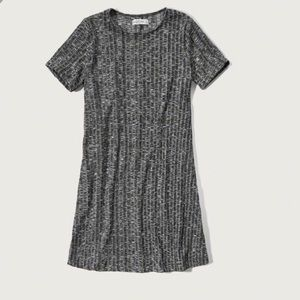 Abercrombie and Fitch Ribbed Tee Shirt Dress